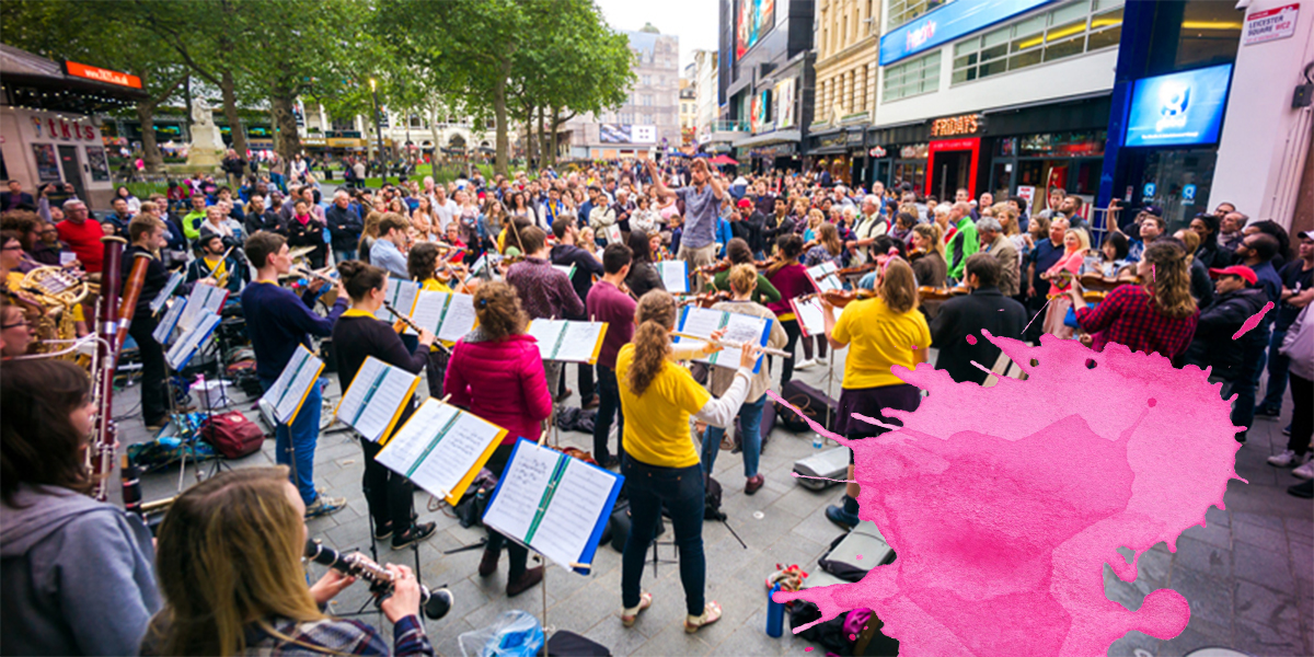 On tour with the Street Orchestra of London