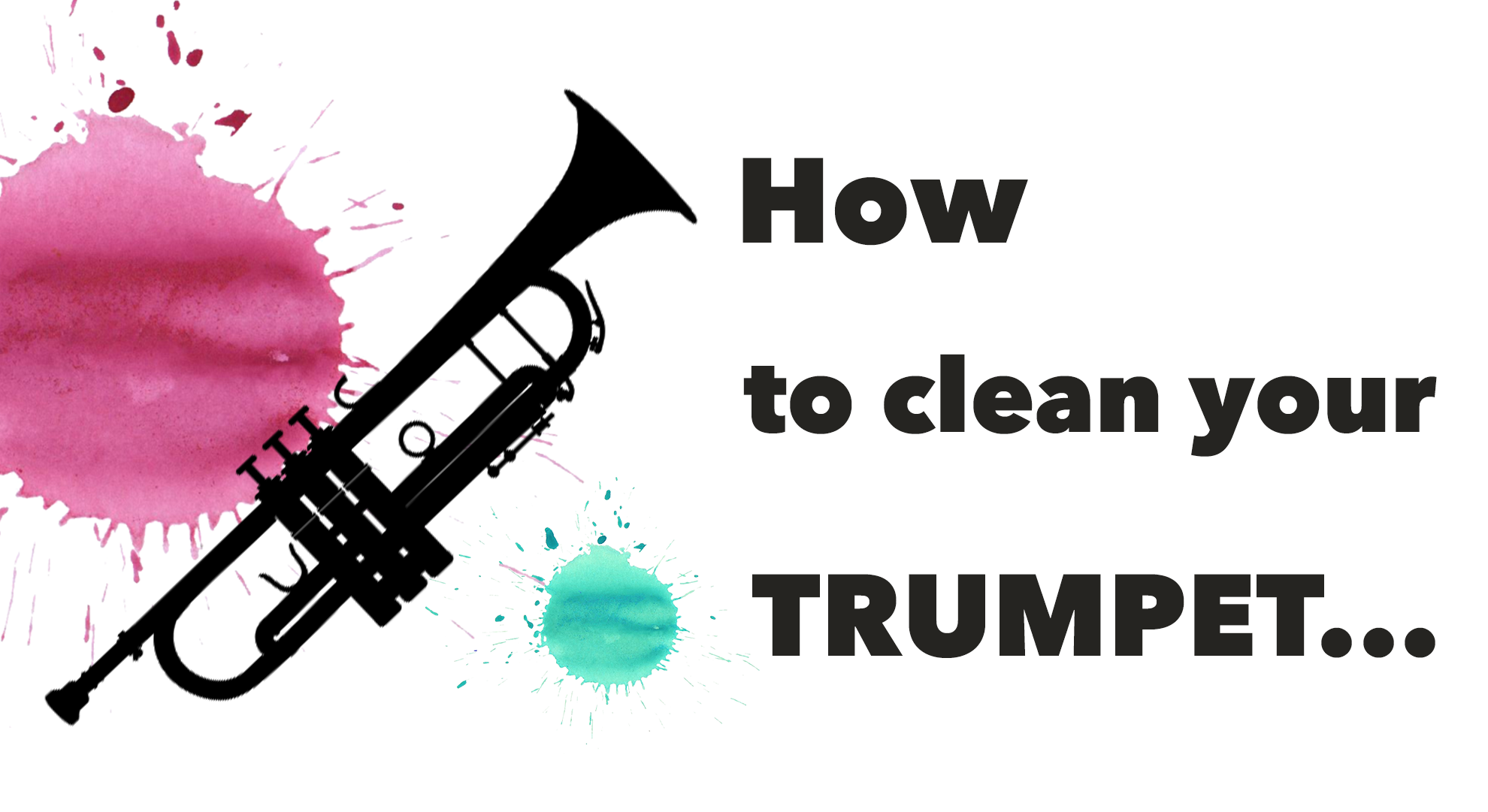 How to clean your trumpet!